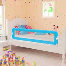 vidaXL 2x Kinderbedhekje 150x42 cm Blauw Bedhekje Bedrail Bed Veiligheidshekje