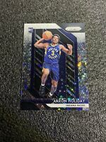 AARON HOLIDAY 2018-19 PRIZM FAST BREAK SILVER PRIZM REFRACTOR RC INDIANA PACERS