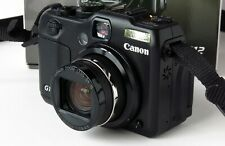 Canon PowerShot G12 10.0 MP Digital SLR Camera Black  Boxed and mint condition