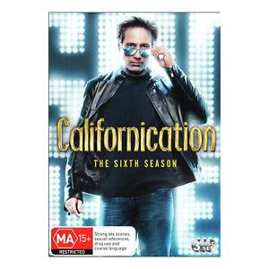 Californication: Season 6 DVD (3 Disc Set) Brand New Region 4 - David Duchovny