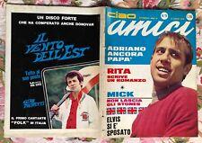 CIAO AMICI 19/1966 CELENTANO ELVIS BOB DYLAN BOBBY SOLO GEORGE STONES  DALLA