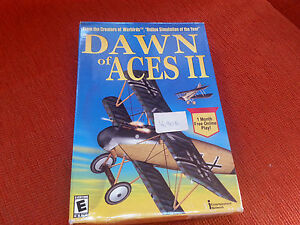 Dawn of aces 2 II windows Macintosh pc cd rom gioco nuovo