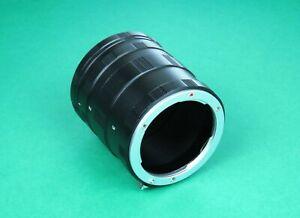 Macro Extension Tube For Sony E mount camera a1, a7 II, a7R II, a7S II, a7R III