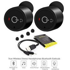 Mini True Wireless Bluetooth Twins Stereo In-Ear Earbuds Headset Earphone