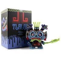 "Kidrobot Vinyl TLALOC 8"" Dunny by Jesse Hernandez Blue Box RARE Limited NIB"