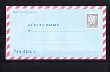 MONACO   entier postal  aérogramme    3f70   noir