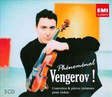 MAXIM VENGEROV Phenomenal Vengerov 3CD NEW Violin Beethoven Lalo Ravel Brahms