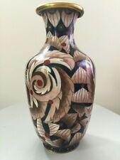 Ancien vase cloisonne Chine Japon