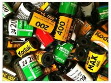 30 EMPTY 35mm FILM CANISTERS  | 100/200/400/ASSORTED ASA/DIN | RELOAD B&W/COLOUR