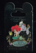 The Little Mermaid 25th Anniversary LE Disney Pin 104986