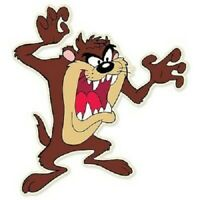 TAZ Tasmanian Devil Classic Cartoon  Vinyl Sticker Decal 2.5""
