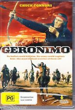 GERONIMO * CHUCK CONNORS ADAM WEST PAT CONWAY * NEW & SEALED DVD