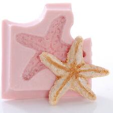 Starfish Silicone Mold Sugarcraft Chocolate Gumpaste Soap Wax Candle Resin  (835
