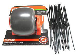 FLYMO Wheel & Shredding Nylon Line Cords Fits GARDEN VAC