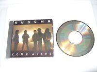 Ruscha  Come Alive 1988 cd excellent condition/Inlays Vg/Ex condit Rare (L.S.)