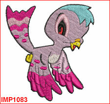EXOTIC BIRDS - 10 MACHINE EMBROIDERY DESIGNS - 2 SIZES