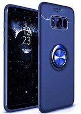 Watache Galaxy S8 Plus Case, Ring Kickstand Case Magnetic Car Mount