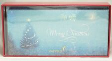 Papyrus Blue Christmas Tree Holiday Christmas Card Box Set of 16