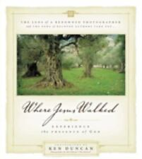 Where Jesus Walked BRAND NEW HARDCOVER GOD SPIRIT BOOK, NO MARKS, NEVER READ