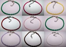 Unbranded Leather Costume Charms & Charm Bracelets
