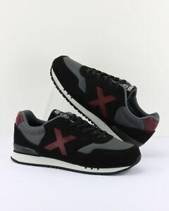 ZV0133 Scarpe Sneakers MUNICH uomo Nero
