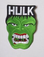 Patch écusson HULK the avengers super héros 8 cm x 12 cm
