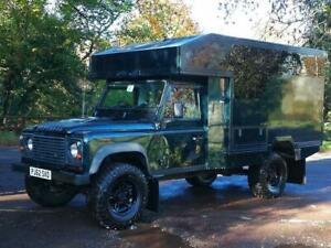2013(62) Land Rover Defender 130 VIP Gun Bus or Camper base vehicle