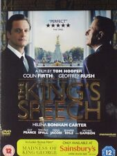 THE KING'S SPEECH + THE MADNESS OF KING GEORGE 2 DISC SPECIAL EDITION DVD