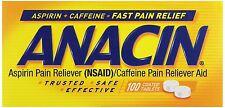 Anacin Coated Tablets, 100 Ct