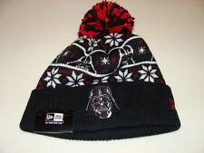 New Era Cap Hat Toque Beanie Star Wars Pom Knit Christmas Sweater Darth Vader