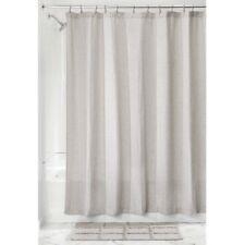 """InterDesign #74667 72"""" x 72"""" - Linen Waffle Shower Curtain"""