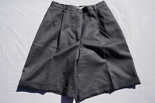 Talbot's Petite Pleaded 100% Wool Casual Shorts, Lined Women's Size 8