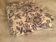 Pillow Shams Blue Toile Floral French Country Fruit Standard Lined Pillowcases