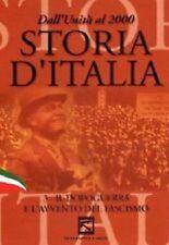 DvD STORIA D' ITALIA IL DOPOGUERRA E L'AVVENTO FASCISMO ....NUOVO