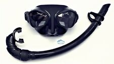 Mask and Snorkel Set for Diving, Freediving and Spearfishing WIL-DS-27