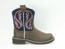 ARIAT Womens Fatbaby Heritage Dark Barley / Navy Size 6.5 10026506 NEW AUTHENTIC