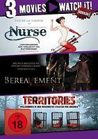 TERRITORIES/BEREAVEMENT/NURSE (Kathleen Turner,  Michael Biehn)  3 DVD NEU