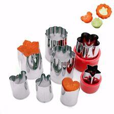 Lot 8 emporte pièces enfant cuisine légumes/fruits/gateaux NEUF