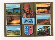 Lappi Lapland Finland Postcard 617a