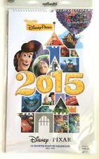 New Disney Parks 2015-2016 Disney Pixar 14 Month Poster Calendar
