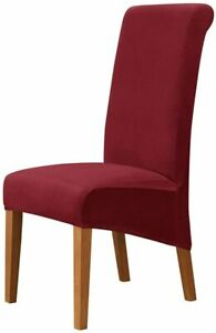 XL High Back Chair Cover Seat Cover for Dinning Chair set of 6