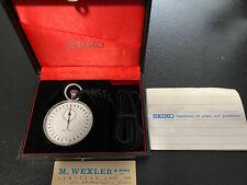 Vintage SEIKO Watch Stopwatch 90-5039 Brand New In Original Case. Must See