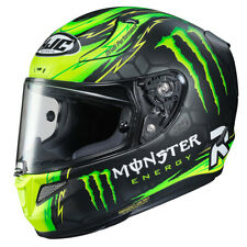 HJC RPHA-11 Crutchlow Replica racing helmet FREE A* NECKTUBE and SMOKE VISOR
