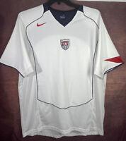 Nike US Men's Soccer Team Jersey XL Shirt Mens White Breathable
