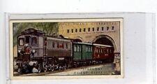 (Jc7393-100)  CHURCHMANS,FAMOUS RAILWAY TRAINS,SIMPLON-ORIENT EXPRESS,1929,#23