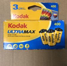 Kodak UltraMax 400 35mm Color Film - 3 Pack, Expired 05/2018