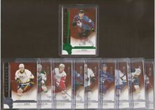 2016-17 upper deck artifacts rookie lot (10 cards) with redemption cards