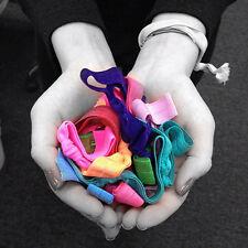 10pc Colorful No Crease Magic Hair Ties Band Ponytail Fashion Bracelet Rope