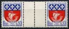 Francia 1965 SG#1499f 30 C Paris, brazos estampillada sin montar o nunca montada Canalón par #D64711