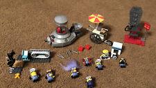 Despicable Me Mega Bloks Lot Minion Mobile Chair O Magic Mailroom Scanner 8 Figs